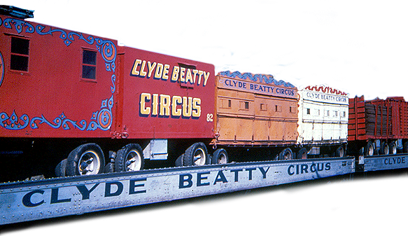 Beatty Circus Train